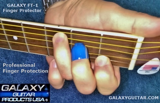 Galaxy Guitar Finger Protector