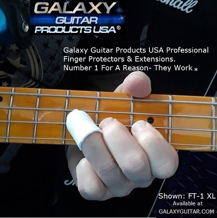 Galaxy Guitar Finger Protectors