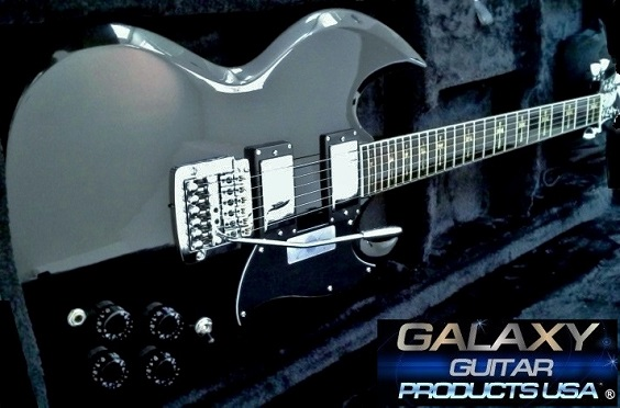 Galaxy Midnight Black Guitar