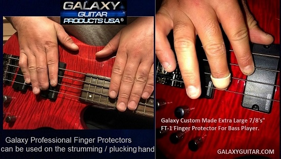 Galaxy FT-1 Finger Protector For Bass Guitar