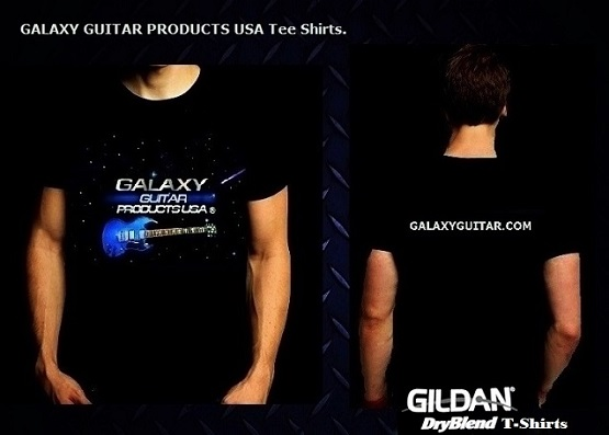 Galaxy Guitar Products Tshirts